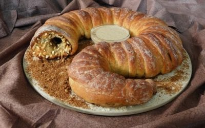 SPICE STUFFED SANDWORM BREAD